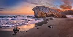 Playa de Monsul (Parque Natural del Cabo de Gata) (dleiva) Tags: parque espaa de spain cabo san natural jose playa paisaje andalucia gata domingo almeria cala leiva dleiva munsul