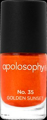 Apolosophy Nail Polish 35 Golden Sunset (nyhet 2015)