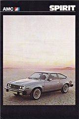 AMC Spirit brochure 1979 (sjoerd.wijsman) Tags: auto cars car spirit voiture vehicle amc brochure 1979 fahrzeug folleto prospekt carbrochure amcspirit opuscolo brochura broschyr autobrochure