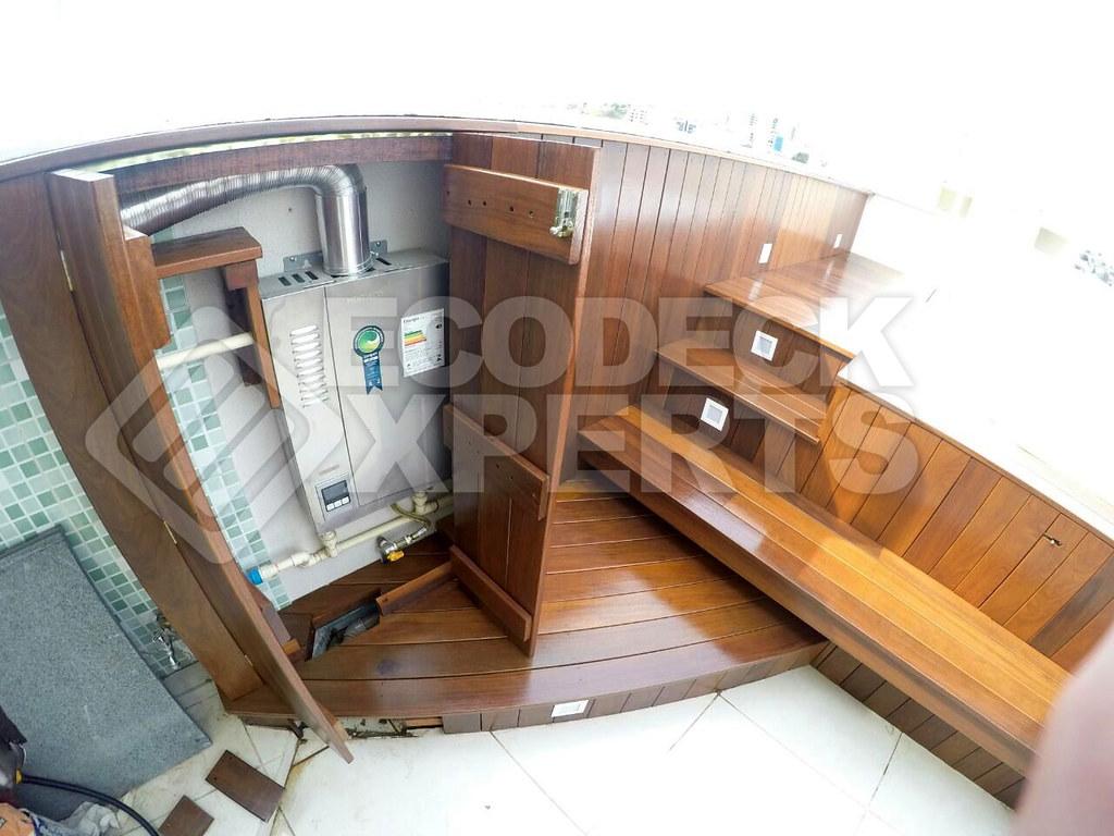 Deck Hidromassagem Quadrada 016