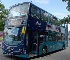 Selby (Andrew Stopford) Tags: wright gemini arriva selby vdl 2dl db300 yj59bue ay08max