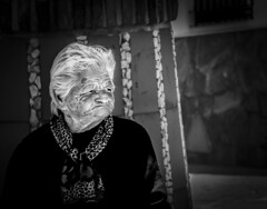Anciana (Jose Mara Ruiz) Tags: white black blancoynegro blanco mayor negro personas poesia anciano anciana viejo poeta ancianos blanckandwhite comares duelos
