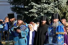 57. The blessing of water on the day of the Svyatogorsk icon of the Mother of God / Водосвятный молебен в день празднования Святогорской иконы Божией Матери
