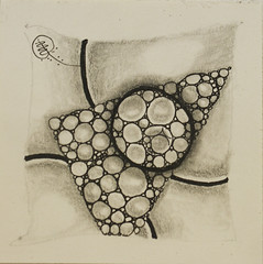 no. 85 (aaspforswestin) Tags: blackandwhite bw ink drawing zentangle zentangles zentangleproject