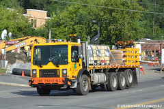 PennDOT Mack MR688 Chase Truck (Trucks, Buses, & Trains by granitefan713) Tags: truck bigtruck mack coe paintcrew penndot macktruck linepainter mackcabover class8truck mackmr linestriper vocationaltruck mackmr688