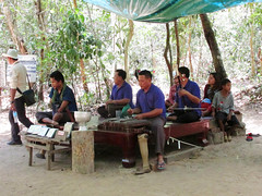 Candid Musicians in Cambodia (shaire productions) Tags: world travel people music tourism musicians asia cambodia southeastasia tour image candid country picture culture photograph phnompenh siemreap imagery traveler