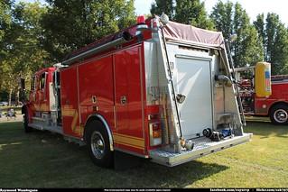 Lexington Township Fire Department Engine 382 Freightliner FL80