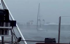 Storn at sea (worlogha) Tags: hurricane sailing sail sailboat sailingboat sea ocean oldman boat boats storm hurricanewilma florida