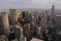 NH0A6127s (michael.soukup) Tags: newyork newyorkcity skyline manhattan empirestate worldtradecenter cityscape sunset dusk skyscraper citylights architecture midtown rockefeller 30rock tower bluehour night nyc building outdoor city