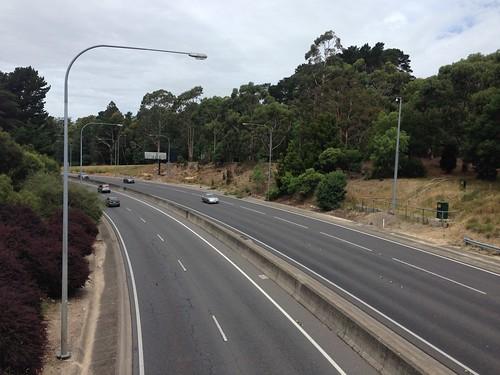 South-Eastern Freeway,  Crafers