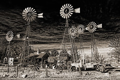 Blown In The Wind!   ...HWW! (jackalope22) Tags: hww farm white windmill clouds wednesday happy
