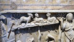 Arbor with animals, Santa Maria Antiqua Sarcophgus