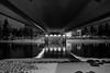 Joensuu - Finland (Sami Niemeläinen (instagram: santtujns)) Tags: joensuu suomi finland pohjois karjala north carelia city kaupunki blackandwhite mustavalkea monochrome silta bridge sirkkalansilta pielisjoki river talvi winter