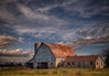 Old Barn (Uncle Phooey) Tags: old barn rural missouri ozarks sky autumn lawrencecounty