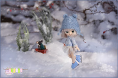 Willow - Little Dal Humpty-Dumpty (Sophie's Pullips) Tags: pullip pullips doll dolls dal taeyang byul mini little blythe winter holidays christmas new year cute tiny humptydumpty humpty dumpty miniature photography groove jun planning bjd obitsu 11 cm himitsu poison girl ooak custom knitting