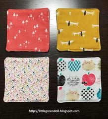 6715-Individuales-MugRug (Silvia LGD (Little Green Doll)) Tags: crafts patchwork fabrics telas dashwoodstudio handmade hechoamano individual mantelitoindividual placemat mugrug posavasos coaster individuales linen lino