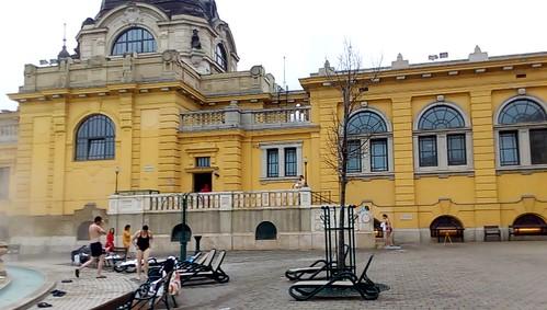 Termas de Széchenyi em Budapeste