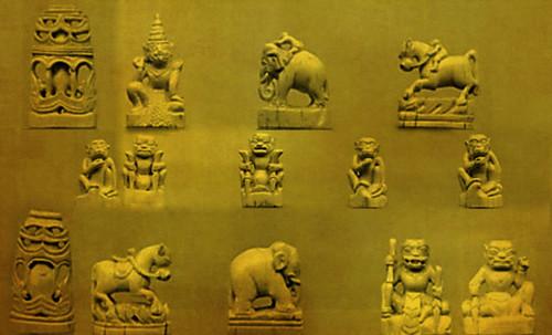 """Chaturanga-makruk / Escenarios y artefactos de recreación meditativa en lndia y el sudeste asiático • <a style=""""font-size:0.8em;"""" href=""""http://www.flickr.com/photos/30735181@N00/31710113973/"""" target=""""_blank"""">View on Flickr</a>"""