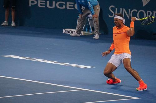 Rafael Nadal Forehand Finish