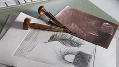 Gravure au burin (tpv2009) Tags: art dessin gravure engraving etching tpv cuivre