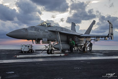 Boeing F/A-18E Super Hornet 166952 - VFA-86 Sidewinders - USS Dwight D Eisenhower (BenSMontgomery) Tags: us navy boeing fa18e super hornet 166952 vfa86 sidewinders uss dwight d eisenhower strike fighter squadron mighty ike inherent resolve operation fleet united states 6th