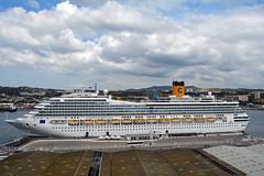 Costa Fortuna at Marseille 3 (PhillMono) Tags: nikon dslr d7100 harbour dock marseille france ship boat vessel cruise voyage costa fortuna