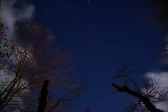 stars view at Lake Kawaguchi (Raiden8705) Tags: kawaguchilake japan stars cloud night
