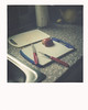The details of everyday life (Katharina.m.M) Tags: everyday banal lonely alone thoughtful food kitchen home family god detail bible christian reflective faithful mediumformat film colourfilm chemicalprinting traditional square