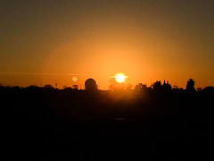 Mather FAA Radar (mightyohm) Tags: radar afb radome fps91a sunset mather faa california unitedstates us