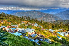 Sillery Gaon (Sougata2013) Tags: darjeeling westbengal india sillerigaon landscape nature nikon nikond7200 himalaya kanchenjungarange hdr