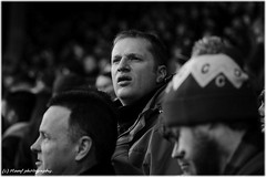 A face in the crowd. ((c) MAMF photography..) Tags: crowd crowds britain blackandwhite blackwhite bw biancoenero blancoynegro blanco blancoenero candid d7100 england enblancoynegro flickrcom flickr football fussball futball fútbol futeball futbal google googleimages gb greatbritain greatphotographers greatphoto inbiancoenero image leeds leedsunited mamfphotography mamf monochrome nikon noiretblanc noir north nikond7100 negro northernengland photography photo pretoebranco people schwarzundweis schwarz uk unitedkingdom upnorth voetbal westyorkshire yorkshire zwartenwit zwartwit zwart