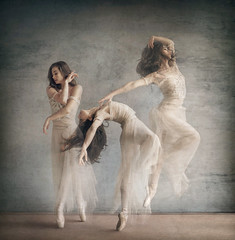 (Michelle.A.M.) Tags: ballet ballerina triple three exposure photoshop manipulation pointe graceful whimsical serene talent strong movement texture