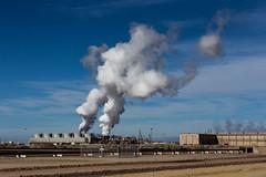 Got steam? Cal Energy Generation geothermal power plant (slworking2) Tags: calipatria california unitedstates us geothermal calenergygeneration greenpower greenenergy saltonsea