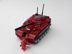 Imperial Balkanian Tank (Josiah N.) Tags: lego tank imperial balkania risk legacy