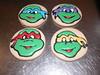 Ninja Turtles Cookies (2) (GRAMPASSTORE) Tags: mygrampasstoregrandpagrandpaslagrangelagrangeil60525customunique teenagemutantninjaturtlescookiefavorfavors superheros superman spiderman flash greenlantern wonderwoman batman ninjaturtles hulk avengers theme cake cakes birthday powerraners 60525