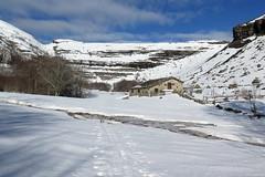 Llanos del Curro (Begoña Fernández) Tags: curro burgos castillayleón valnera estacasdetrueba nieve snow elur sol sun eguzki