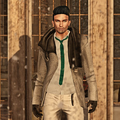 Cold Snap (The Virtual Gent) Tags: thevirtualgent thevirtualgentleman tvg virtual gent gentleman world virtualworld secondlife sl fashion men'sfashion malefashion secondlifetravel tmd themensdepartment themen'sdepartment gild jacket signatureevent hoorenbeek shirt tie skinnytie ascend pants trousers davidheather shoes oxfords deadwool groupgift freegift gift free gloves catwa head meshhead bentohead signature body meshbody mesh nivaro skin skinapplier faceapplier bodyapplier action hair id insufferabledastard eyes mesheyes lepoppycock pose poses apainterslink location sim snow winter