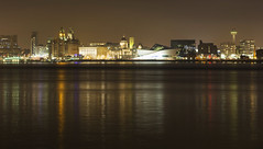 Liverpool Waterfront (David Chennell - DavidC.Photography) Tags: liverpool merseyside cityscape waterfront liverpoolwaterfront threegraces rivermersey