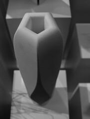 Vase (Tim Ravenscroft) Tags: vase shadows monochrome blackandwhite design museum london uk