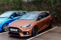 Bold. (Reece Garside | Photography) Tags: ford fordrs focus focusrs rs brown wrapped supercar summer spotter sun street car canon canon6d hypercar history rare london 6d hothatch worldcars