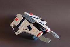 Hiigaran Light Interceptor - (Sydag) Tags: lego moc scifi space starfighter spacefighter homeworld