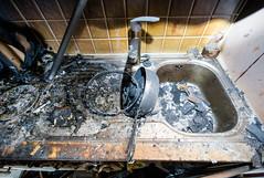 OBRE-utbrent-kjøkken-Rustad-12 (oslobrannogredning) Tags: kjøkkenbrann tørrkok bygningsbrann brann brannskader utbrent komfyr koketopp matlaging