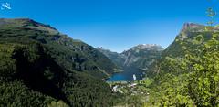 Geiranger fjord (Ha-Tschi) Tags: norway geiranger fjord pentax ks2 1855mm panorama