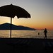Under my ombrella-Radhima beach-Albania