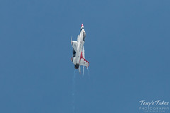 Air Force Thunderbirds going ballistic