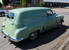 1952 Canadian Pontiac Sedan Delivery (D70) Tags: show canada sedan shine bc canadian delivery coquitlam pontiac annual kms 1952 2015