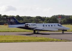 D-CGRC Learjet 35 SN 35-223 EGHI 09-06-2015 (pete thorns) Tags: southampton eghi dcgrc