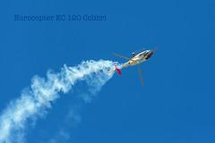 Vuelo Invertido (PUAROT) Tags: blue españa color azul cielo morón aire invertido helicóptero vuelo fotografía aerea aspa ejército patrulla jpa d700 puarot