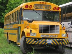 Hudson Valley Bus Co #25 (ThoseGuys119) Tags: newyork 25 transit former schoolbus 343 freightliner thomasbuilt peekskillny putnamvalley hudsonvalleybusco 3800haverstraw