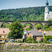 2015 - Durnstein - Wachau Valley - Railway Viaduct & Church